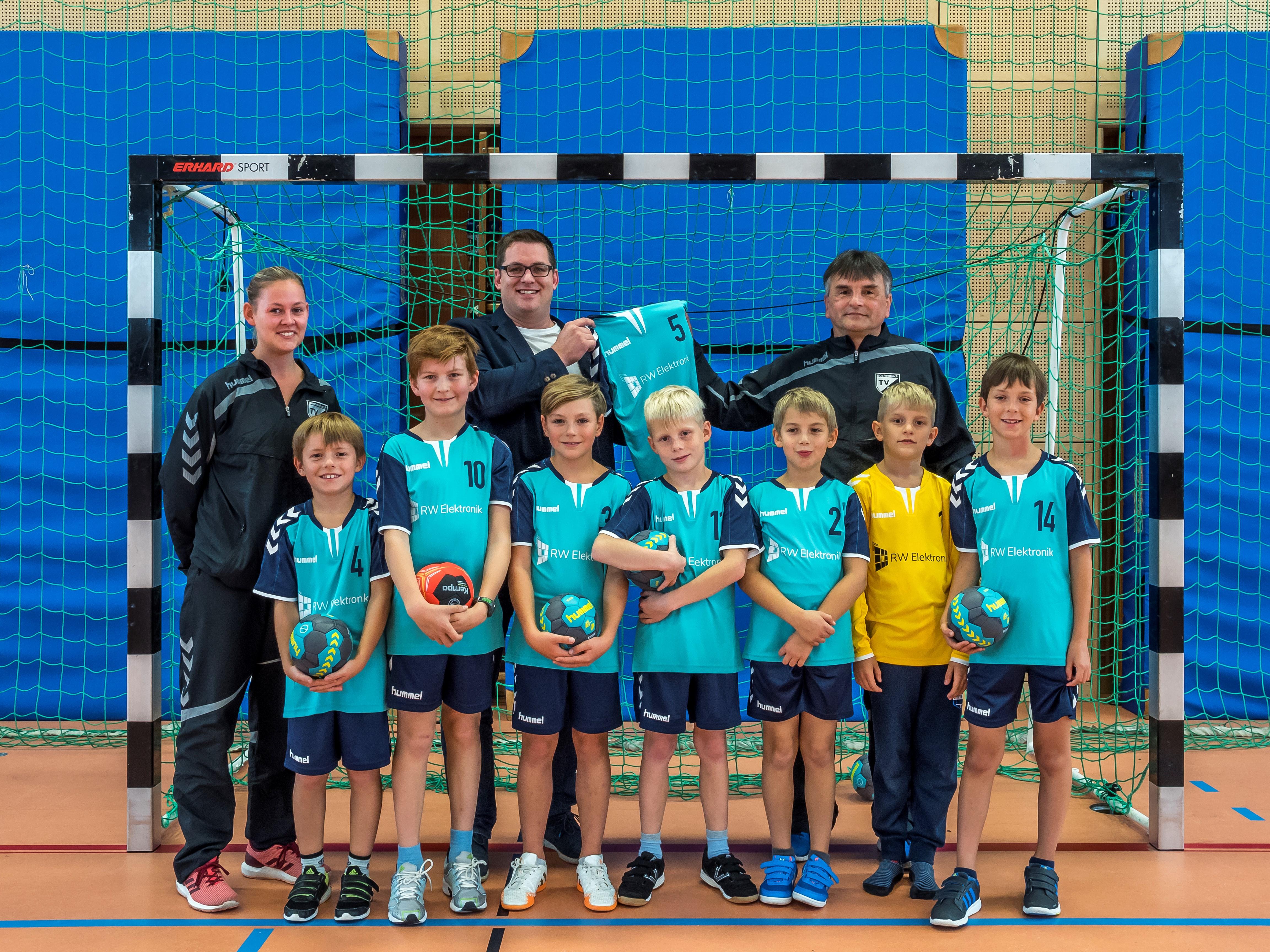 Neue Trikots Für Die Handballmannschaft Des TV 21 Büchenbach E. V.